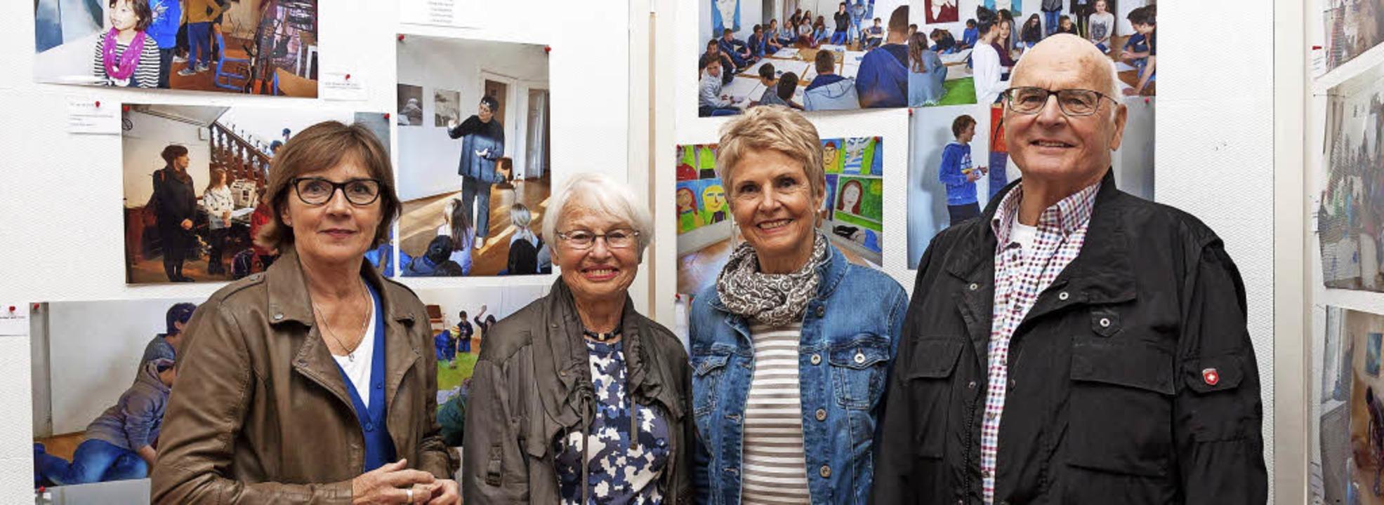 Freuen sich auf die Ausstellungseröffn...Volker Lindemann und Ulrike Schräder.     Foto: Fotos: Helmut Rothermel