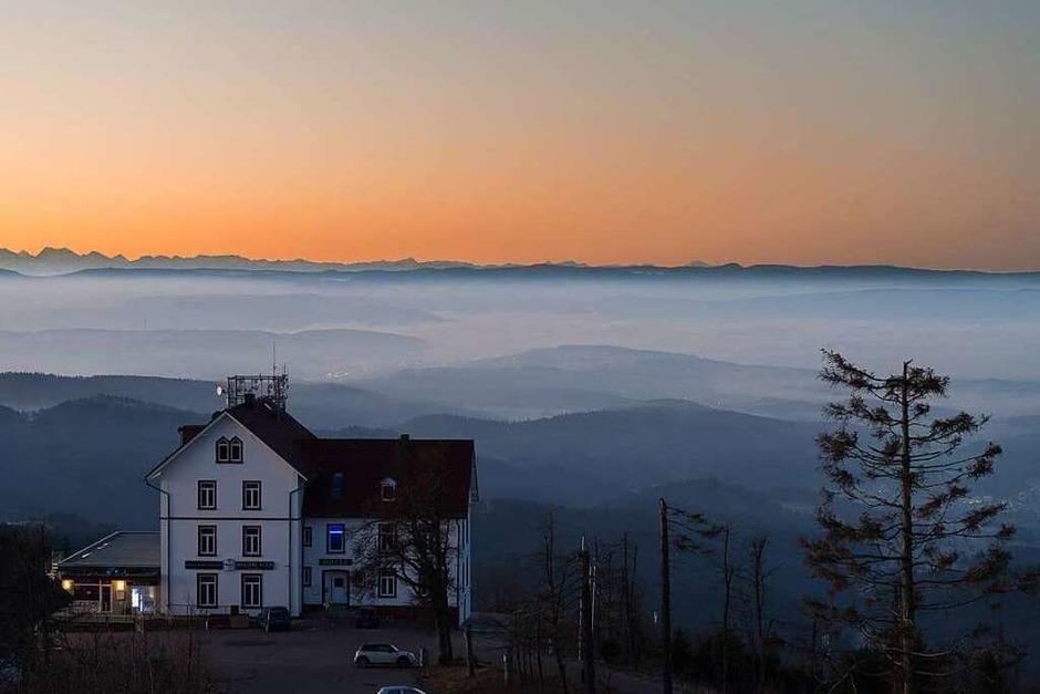 Alpenblick vom Blauen (Hochblauen) (Foto: Thomas Schwab)