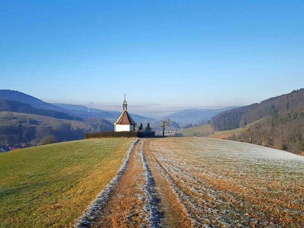 Beruhigende Aussicht zum Jahreswechsel (Dörlinbach)