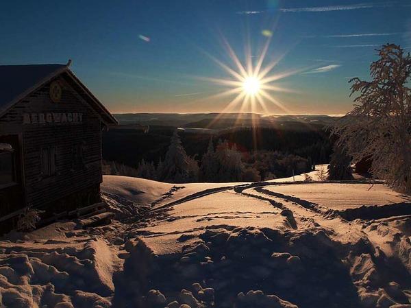 Kandel Bergwacht am frühen Morgen (Kandel)