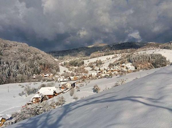 Reichenbach im Schnee (Freiamt)
