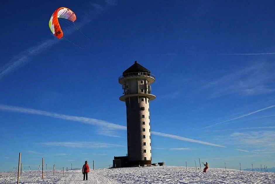 Unser Feldberg an einem Wintertag (Ehrenkirchen) (Foto: Wolf Joachim Feiler)