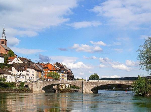Die mittelalterlichen Fassaden von Laufenburg (Laufenburg)