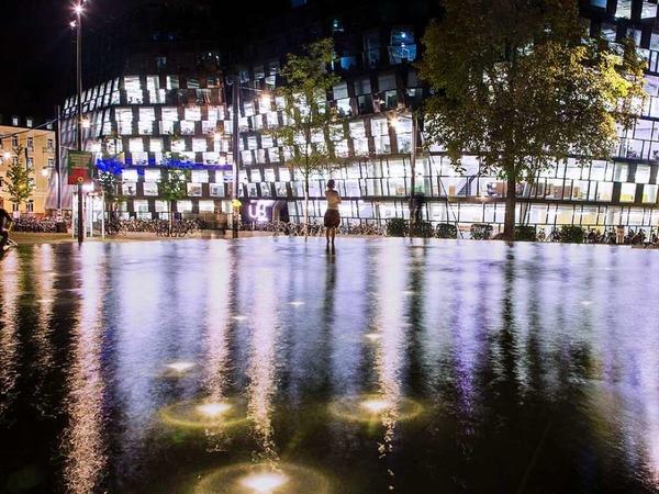 UB by Night (Freiburg)