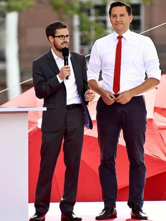 Wahlkampfauftritt von Martin Schulz