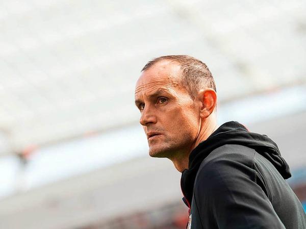 Leverkusen-Trainer Heiko Herrlich stand nach en vergangenen Spielen unter Druck.