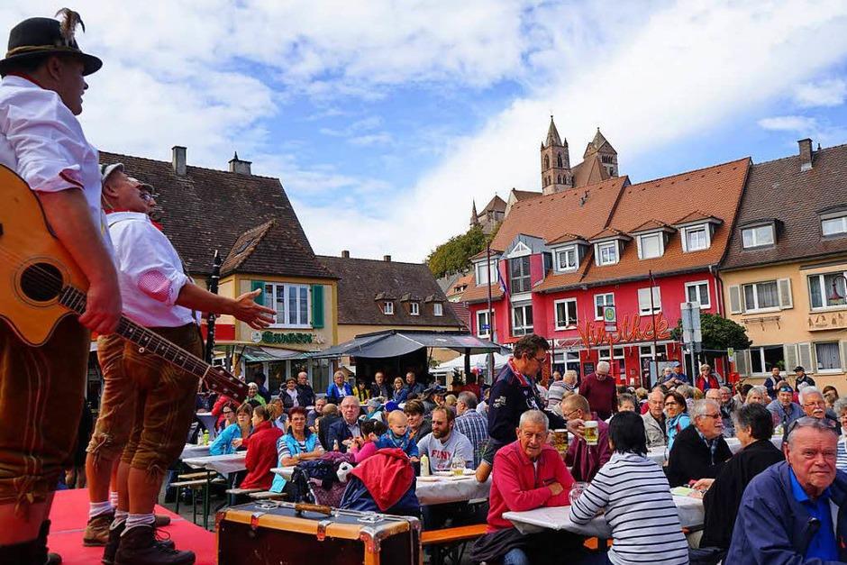 Impressionen vom Breisacher Stadtfest (Foto: Julius Wilhelm Steckmeister)