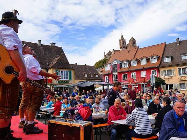 Impressionen vom Breisacher Stadtfest