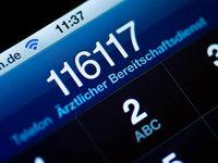 Notrufnummer der Ärzte soll bekannter werden