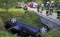 Nach Unfall davongemacht