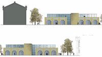 Funk Holding plant weiteres Verwaltungsgebäude beim Kesselhaus