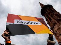 Merkels Dankeschön-Wahlkampf in Freiburg