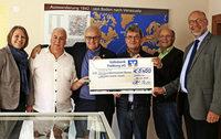 5450 Euro für Tovar-Hilfe