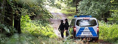 Polizisten fassen mutmaßlichen Täter von Villingendorf
