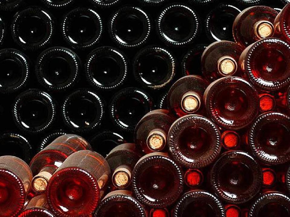 Warum wurde die Säure in einer  Weinflasche gelagert? (Symbolbild)  | Foto: fotolia.com/Dalibor Danilovic