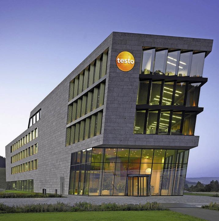 Testo-Gebäude Titisee-Neustadt (Sacker Architekten)    Foto: Roland Halbe