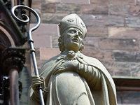 Dieb bringt Wappen des Freiburger Stadtpatrons zurück