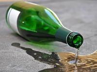 Wie gelangte die Säure in die etikettierte Weinflasche?