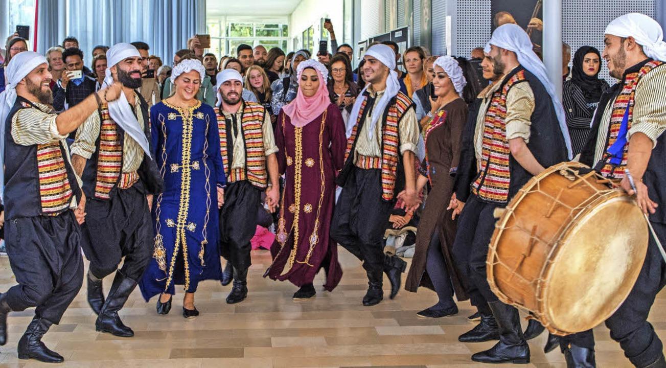 Musik und Tanz durften beim syrischen Kulturfest nicht fehlen.   | Foto: Privat