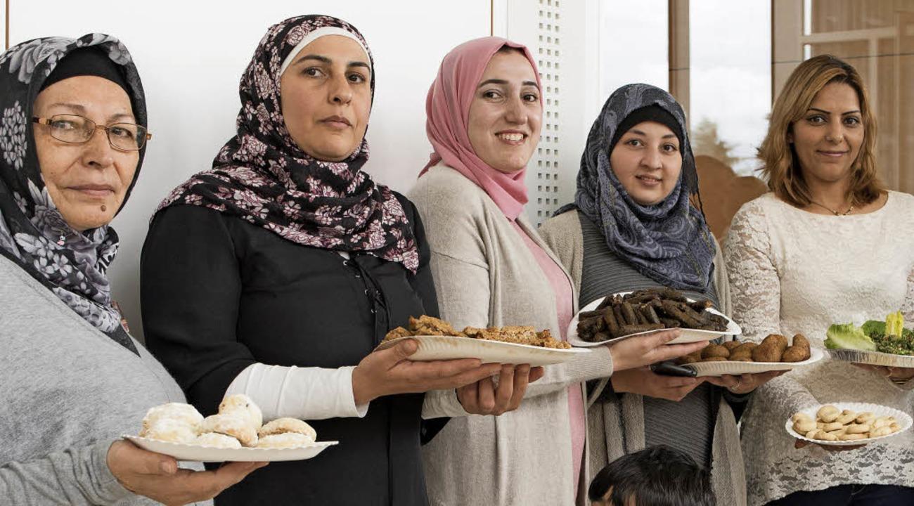 Das kulinarische Angebot, von den Frau...lang vorbereitet, fand großen Anklang.  | Foto: privat