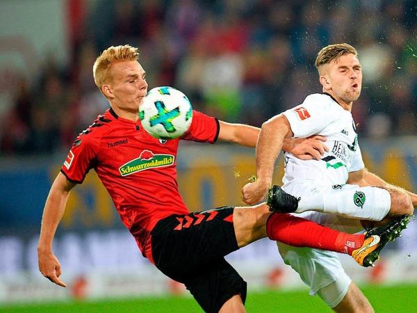 Ein wenig selbst im Weg gestanden: Der SC Freiburg verpasst einen Heimsieg und die damit verbundenen drei Punkte.