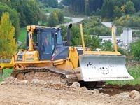Hang rutscht an A 98-Baustelle - Gelände gesperrt