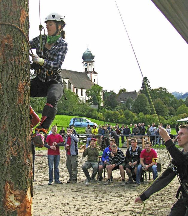 Wieder eine Mordsgaudi:   Münstertäler Wälderspiele   | Foto: M. Lange