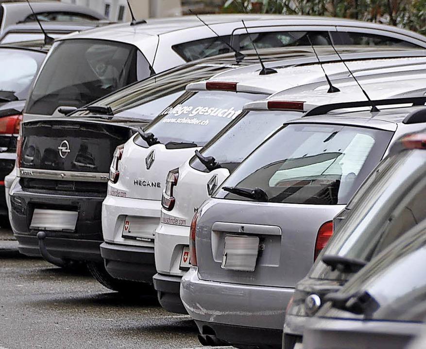 Es fehle an Parkplätzen, klagt der Verband.  | Foto: Gramespacher