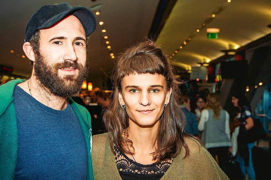 Patrick Allgaier und Gwen Weisser (Foto: Julia Klaus)
