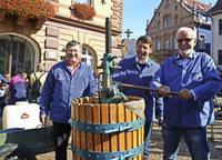 Werbung für Breisgauer Wein