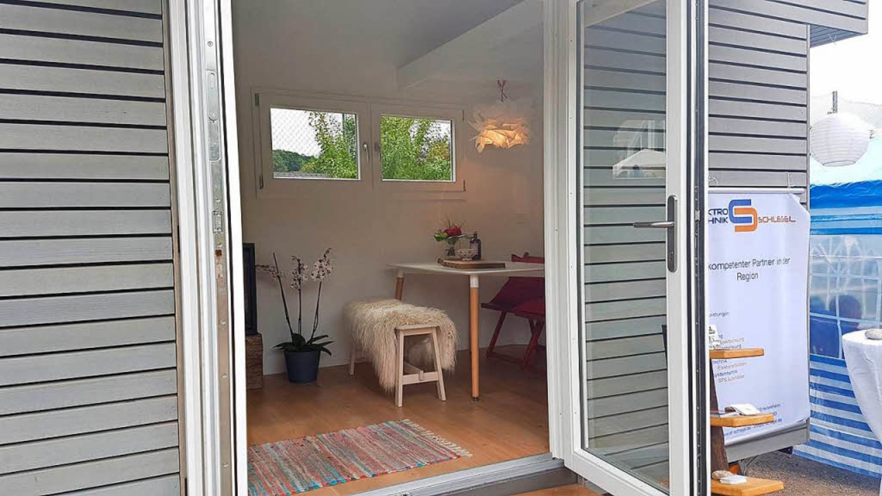 Klein aber fein: das Innere des Tiny House  | Foto: Volker Münch