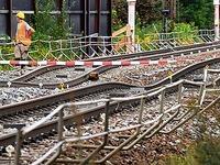 Rastatt: Zwei Züge passierten Gleisabschnitt nach Havarie