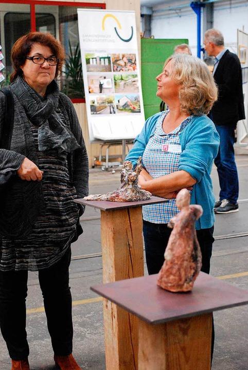 Das Wehrle-Werk als perfekter Ausstellungsraum  | Foto: Sylvia-Karina Jahn