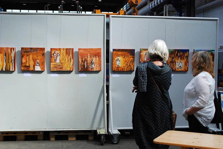 Hanne Günthers neueste Werke  | Foto: Sylvia-Karina Jahn