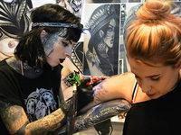 Fotos: Die Tattoo & Art Show 2017 im Lörracher Burghof