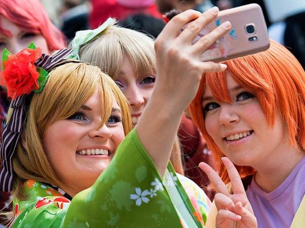 Fotos von der Mangamesse in Kassel.