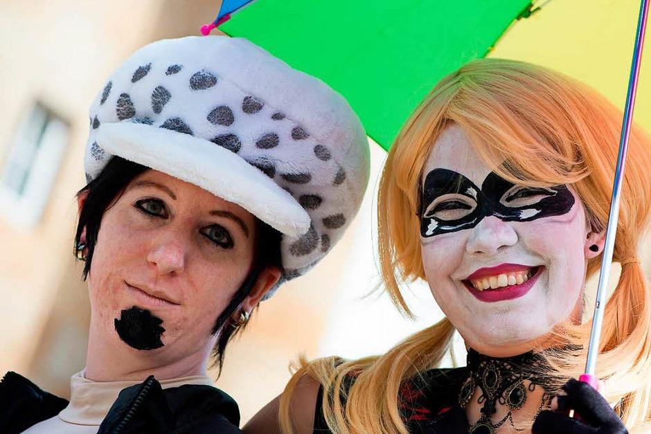Fotos von der Mangamesse in Kassel. (Foto: dpa)