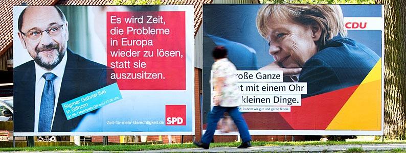 Liveticker zur Bundestagswahl: Höhere Wahlbeteiligung zeichnet sich ab