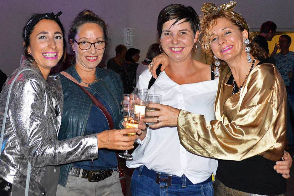 So war's bei der Bonhoeffer-Party reloaded in Wyhlen (Foto: Horatio Gollin)