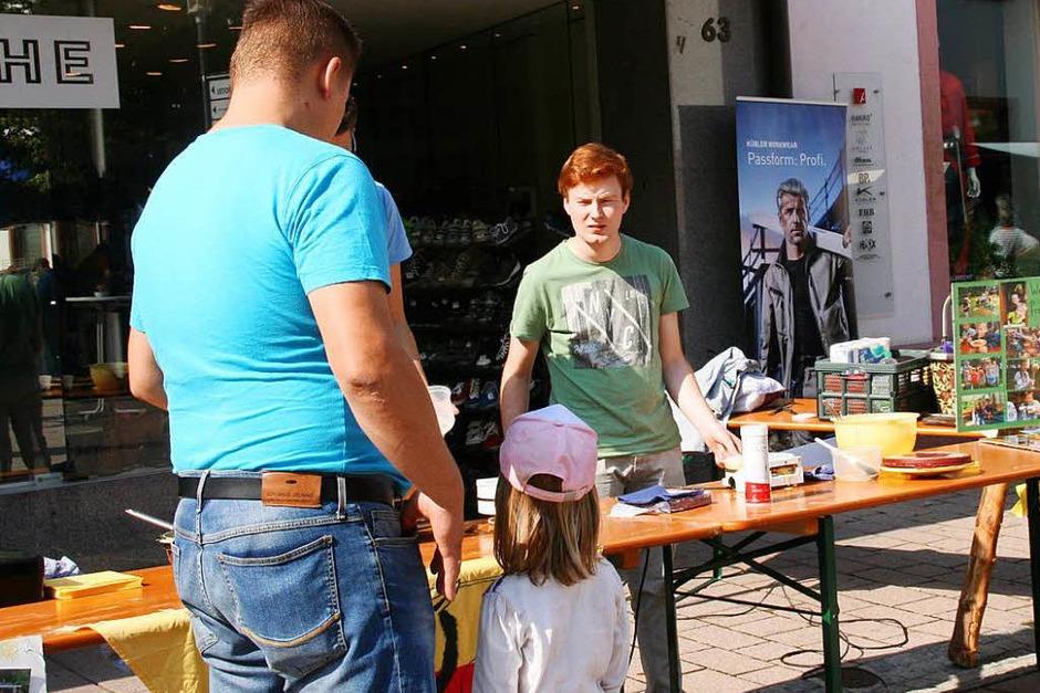 Viel geboten war beim Herbstmarkt und verkaufsoffen Sonntag des Schopfheimer Gewerbevereins (Foto: Marlies Jung-Knoblich)