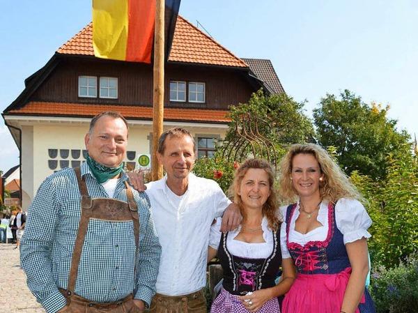 Farbenprächtig war der traditionelle Umzug zum Erntedank am Sonntag in Görwihl.