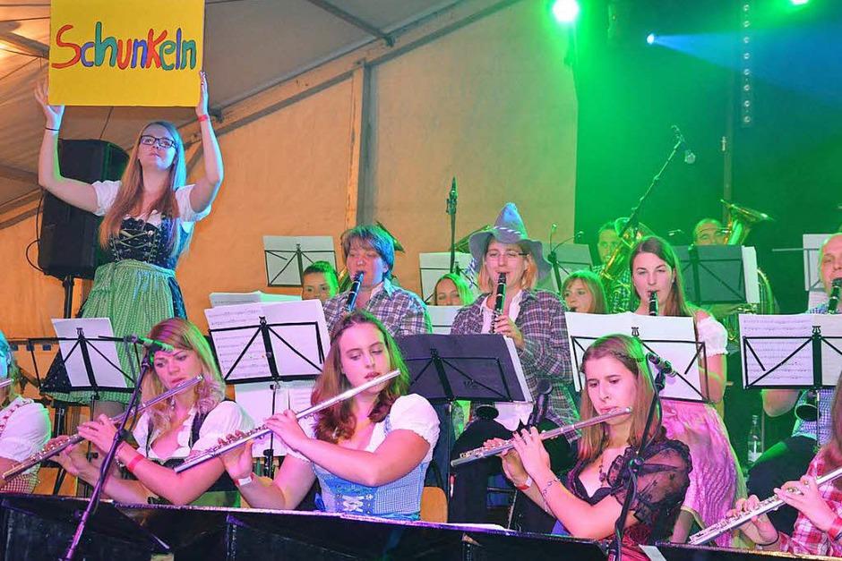 Eine tolle Party ließ sich am Samstag am Breitenstein in Efringen-Kirchen feiern. (Foto: Marco Schopferer)