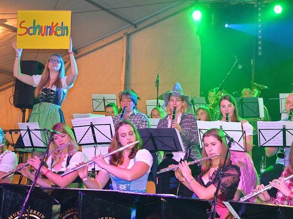 Eine tolle Party ließ sich am Samstag am Breitenstein in Efringen-Kirchen feiern.