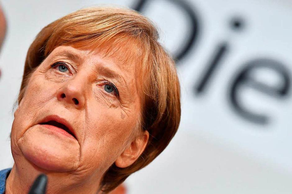 Bundeskanzlerin Angela Merkel (Foto: dpa)