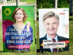 Wahlkrimi in Freiburg: von Marschall knapp in Führung