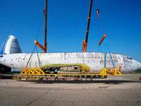 """Flugzeug bringt """"Landshut"""" nach Friedrichshafen"""