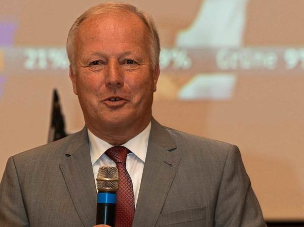 Peter Weiß (CDU ) hat mit 37,6 Prozent (-17,7 Prozent) das Direktmandat im Wahlkreis Emmendingen-Lahr gewonnen.