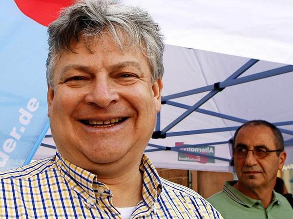 Auch Thomas Seitz (AfD) schafft im Wahlkreis Emmendingen-Lahr den Einzug über die Landesliste.