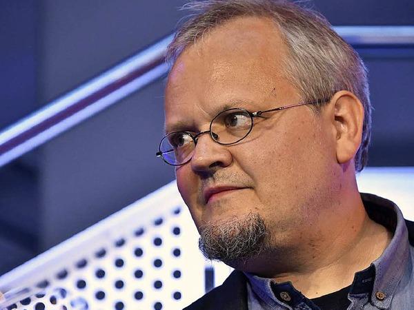 Auch Tobias Pflüger (Linke) kommt  im Wahlkreis Freiburg über die Landesliste nach Berlin.