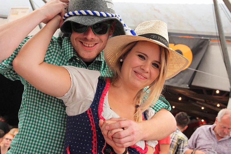Ausgelassene Stimmung herrschte beim Schupfart-Festival. (Foto: Jörn Kerckhoff)